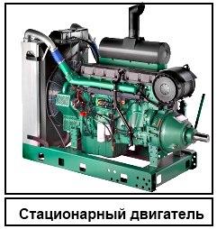 Стационарный двигатель