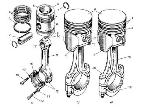 Что такое поршень двигателя? Основное назначение