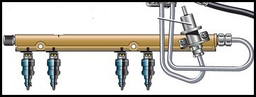 Система питания инжекторного двигателя